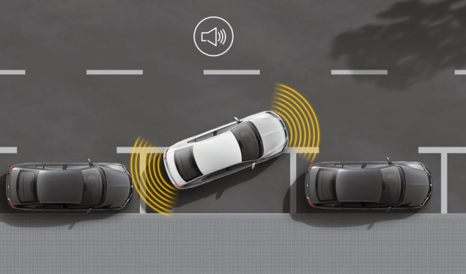 SEAT senzori za parkiranje