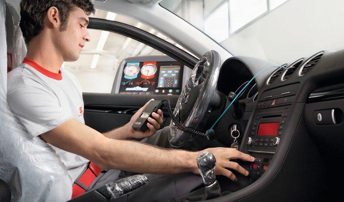 SEAT klima kompresor - servis