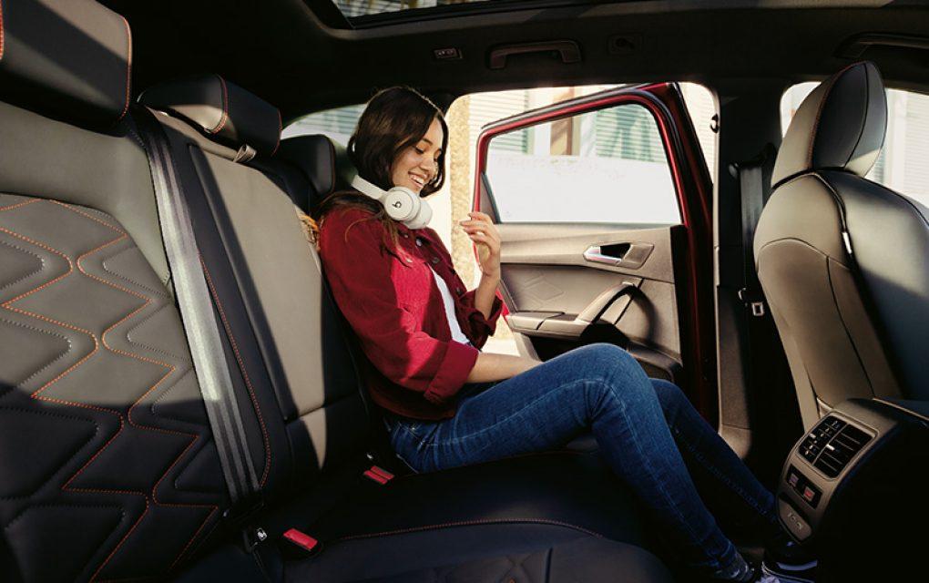 SEAT udobnost