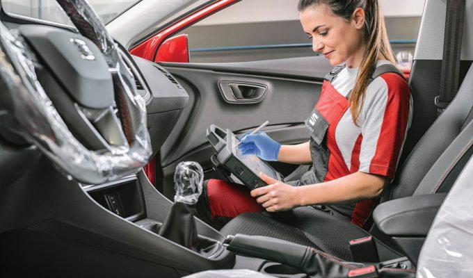SEAT sigurnost u servisu